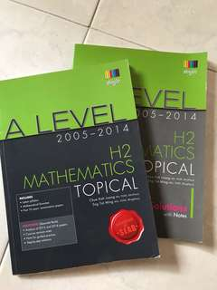 H2 Math TYS Topical A Levels