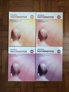 Discovering Mathematics Textbook Secondary 3 & 4
