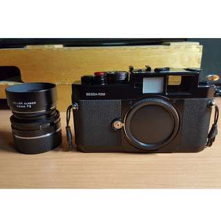 Minty Voigtlander BESSA R3M 250 Jahre HELIAR 50mm F2 (with original boxes, strap and all packaging)