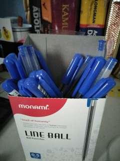 Blue Pens (17 pens)