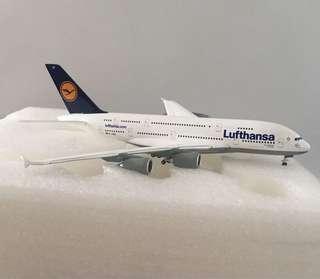 飛機迷至愛 , 全新👍🏼Lufthansa airbus A380 1:400