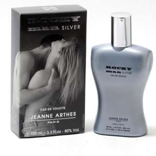 Rocky Man Silver Jeanne Arthes EDT 100ml for men