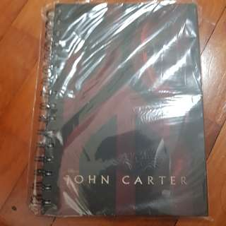 Moving Sale: Brand new John Carter Notebook Movie Premium