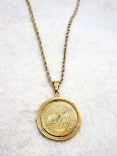 Rotating St. Benedict Necklace