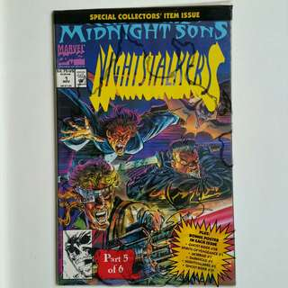 Nightstalkers No.1 comic