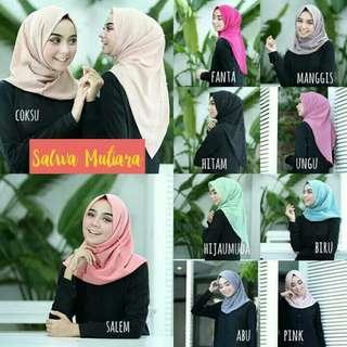 Hijab instan salwa pearly