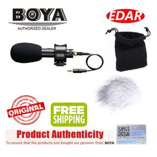 BOYA BY-PVM50 STEREO CONDENSER MICROPHONE ««ORIGINAL & OFFICIAL BOYA»»