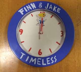 Finn & Jake Clock掛牆鐘 with box