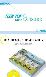 PRE-ORDER TEEN TOP 8TH MINI ALBUM - TEEN TOP STORY 8PISODE