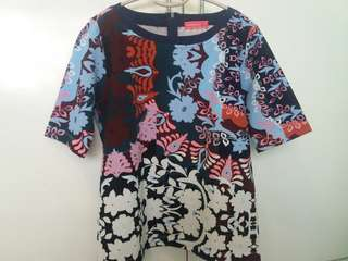 Floral Ethnic Blouse by Paperdolls