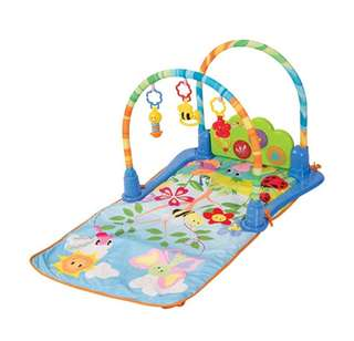 *In Stock* WinFun Grow-With-Me Convertible Activity Gym Cot Floor Musical Play Mat