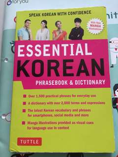 Learn Korean phrase book