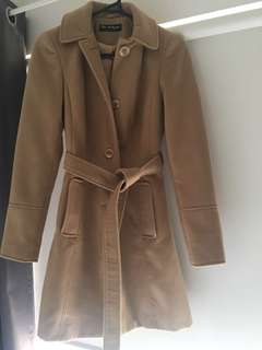 Wool Coat in camel