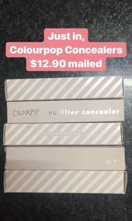 Colourpop No Filter Concealers New Batch Instock Authentic New