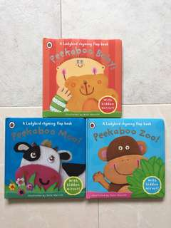 Peekaboo Zoo/ Baby/ Moo