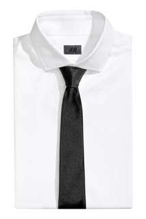 H&M Black Silk Tie