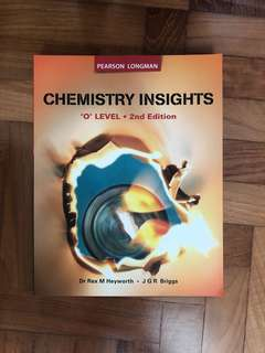 GCE 'O' Level Chemistry Insights Textbook