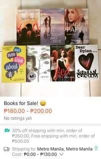 Books for Sale! 😄