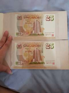 Singapore Note $25