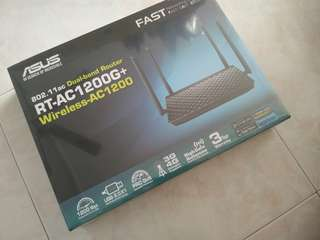 ASUS RT-AC1200+ Dual Band Wireless Gigabit Router