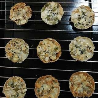 Crunchy Florentine Cookies