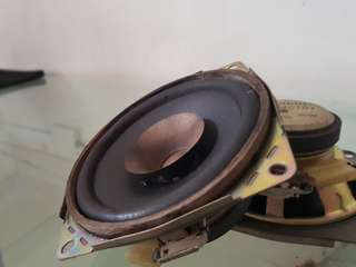 Clarion 4ohms door speakers