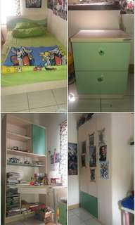 1 set furniture kamar anak