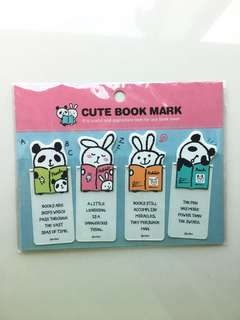 Cute bookmarks from Korea