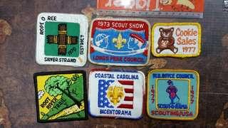 70年代童軍布章