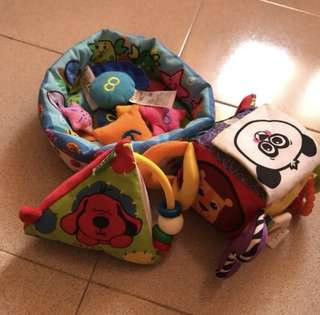 K's Kids and Lamaze assorted toys