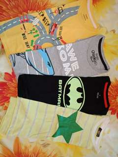 Kaos anak bundling all perfect condition