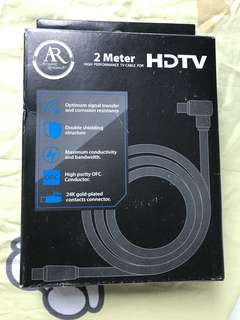 HDTV cable & HDMI 線