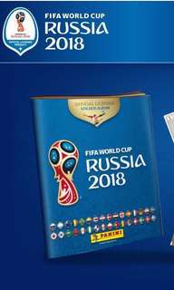 Panini World Cup 2018 Stickers for trade/sale