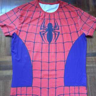 Spiderman costume top