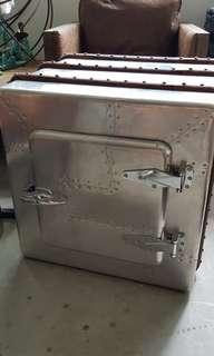 🚩Fast Deal Promo🚩Aviator Metal IceBox Side Table