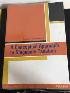 Principles of Taxation AC2301 NTU NBS Textbook