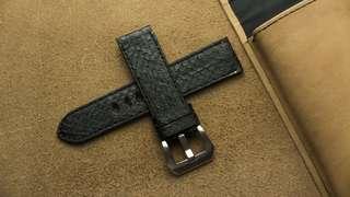 🚚 Panerai watch band / strap Python leather, Panerai watch band / strap 22mm, Panerai watch band / strap 20mm, Panerai watch band / strap custom