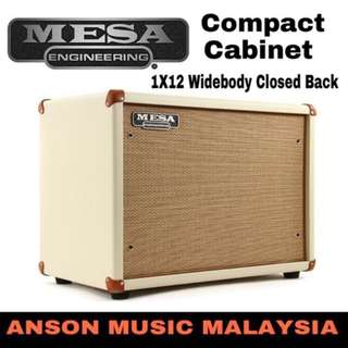 Mesa Boogie 1X12 Wide Body Closed Back Guitar Amplifier Cabinet