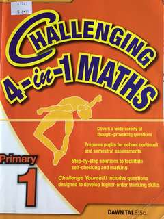 P4 challenging math assessment book
