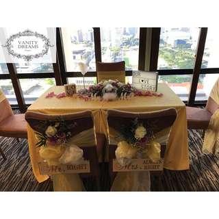 Solemnization Table Set Up Service