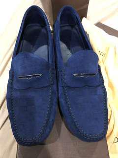 Louis Vuitton's blue suede