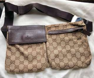 Gucci Belt Waist Bag 腰包 Authentic