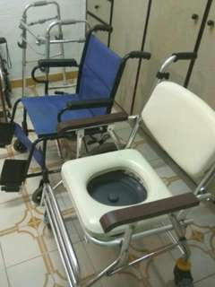 wheel chair  and others all in one price