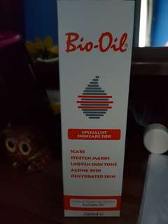 Bio Oil for stretch marks