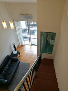 Fully furnished loft 1-bedder unit in East Coast with free wifi