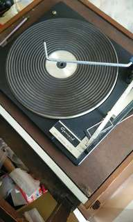 Old fashion record player