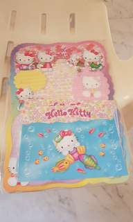 Hello Kitty letter writing set