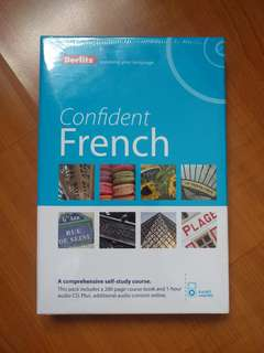Berlitz Confident French (Self Learning material)