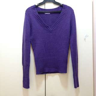 Terranova Purple knitted sweater