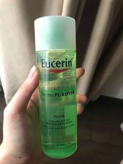 NEW Eucerin Toner Dermo Purifyer
